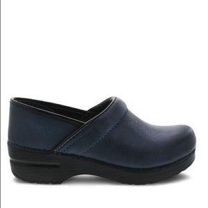 Navy Blue Dansko Shoe Clogs European Size 11